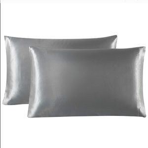 🎀 Silk/Satin Pillowcases 2 Queen/Standard NEW